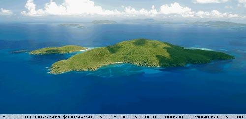 Hans Lollik Island >> BEFORE i FORGET » BILLION DOLLAR ISLAND FOR SALE written by Simon Jones