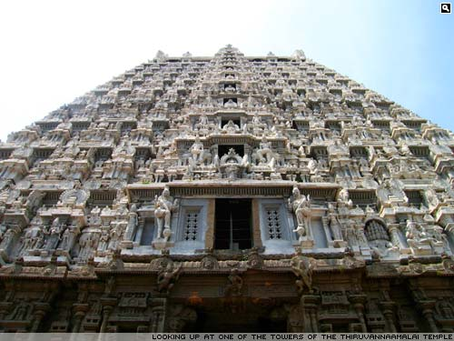 Tiruvannamalai main temple.