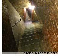 Inside Brunelleschi's dome