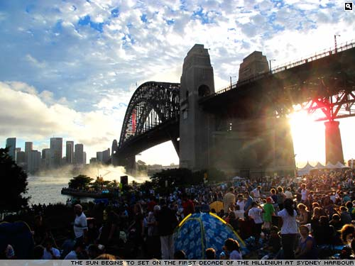 Sydney Harbour at New Year