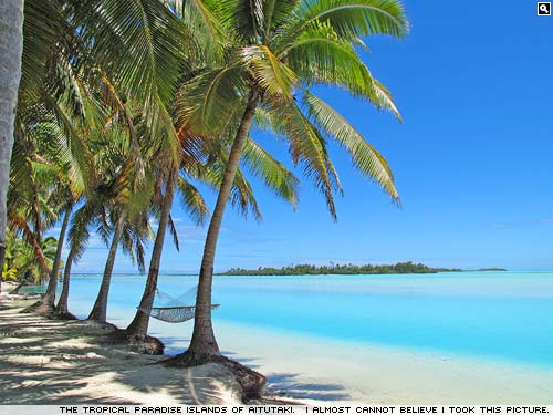 Aitutaki, The Cook Islands : Photograph by Simon Jones