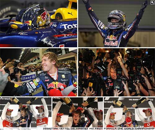 Sebastian Vettel. 2010 Formula One World Champion