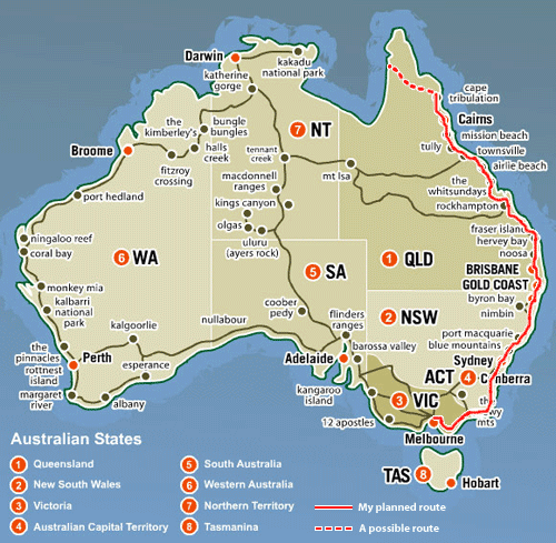NORTH - Australian Road Trip