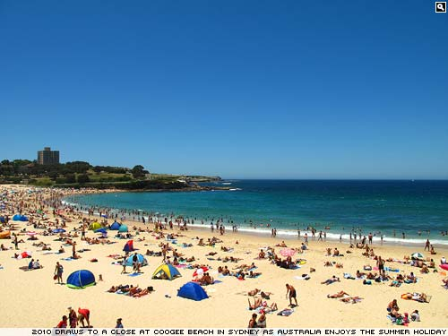 Coogee Beach, Sydney.