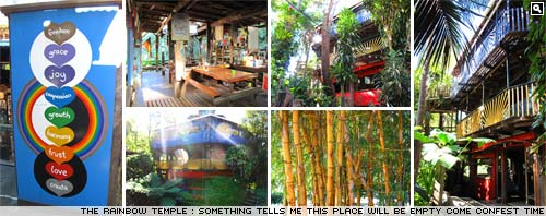 Rainbow Temple, Rosebank, Near Byron Bay