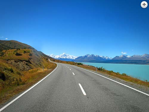 On the road in New Zealand