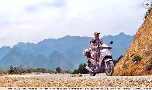 Slow Road to Hanoi - Simon Jones motorbikes through Vietnam.