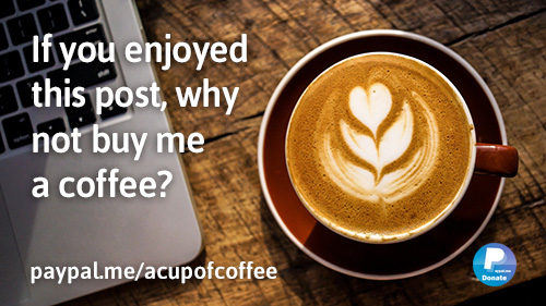 Show your appreciation by buying me a coffee