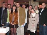 Simon Jones & Rachel Lindsay with friends