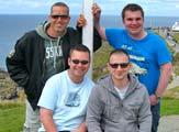 Simon Jones and the lads