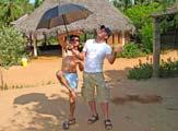 Simon Jones in Auroville