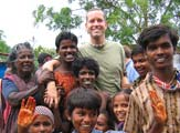 Simon Jones in India